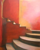 Stairway To Happiness - 100x80